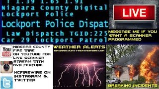 06/16/18 AM & PM Niagara County Fire Wire Live Police & Fire Scanner Stream
