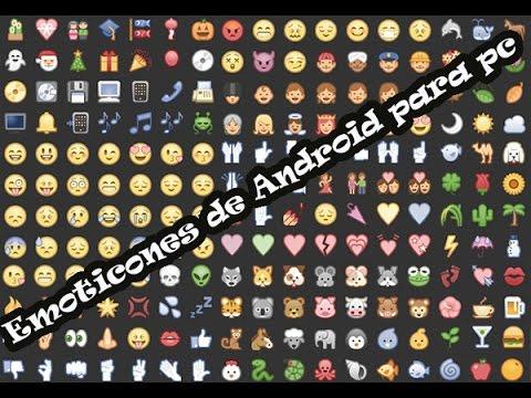 Instalar Emoticones Para Facebook De Android En Pc