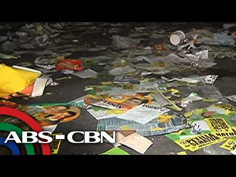 The World Tonight: LP rally leaves behind trash, illegal posters