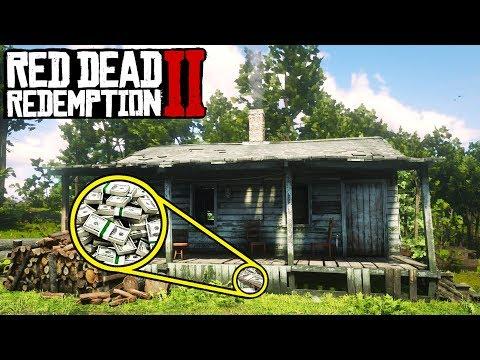 HIDDEN MONEY STASH IN Red Dead Redemption 2! Secret Money Locations in RDR2