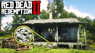 HIDDEN MONEY STASH IN Red Dead Redemption 2! Secret Money Locations in RDR2 thumbnail