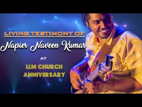 BroNapier Naveen Kumar testimony at LLM Church
