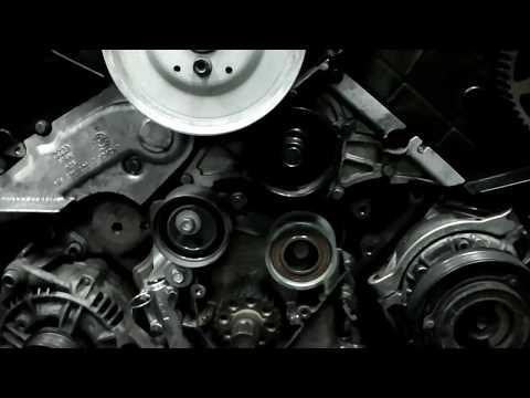 Audi A6 двс 2.4 замена ремня грм