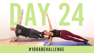 Day 24: 100 Side Plank Dippers! | #100AbChallenge w/ Buff Dude