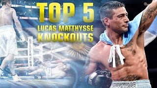 Lucas Matthysse Top 5 Knockouts - Golden Boy Boxing