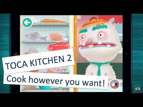 🍭 toca kitchen 2 - kitchen game app for children - iphone/ipad