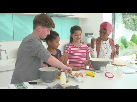 The Great British Bake Off's Bake Off's Nadiya Hussain: 'The kitchen is a fun place for kids'