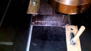 Фрезерный станок ЧПУ работа по металлу http://777russia.ru  89896226777