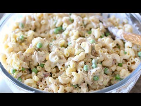 HEALTHY LOW-FAT MACARONI SALAD - How To Make Macaroni Salad - Simple Cooking Videos