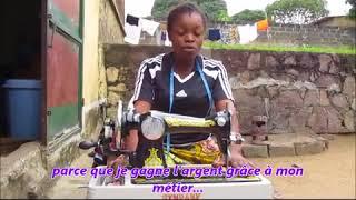 Luila JUPSI, couturière professionnelle formée par HPP-Congo