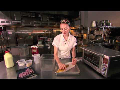 Breville -- Tosi on Tour - Christina Tosi from Momofuku Milk Bar makes Cereal Milk