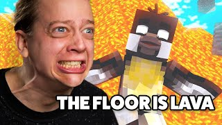 MINECRAFT - FLOOR IS LAVA