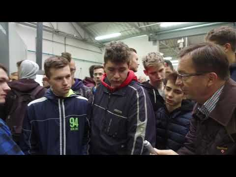 Alekspol Opalenica - Z Wizytą Technikum Mechanicznego W Branży Obróbki Metali