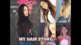 MY HAIR STORY! Storia dei miei capelli...   Leila 