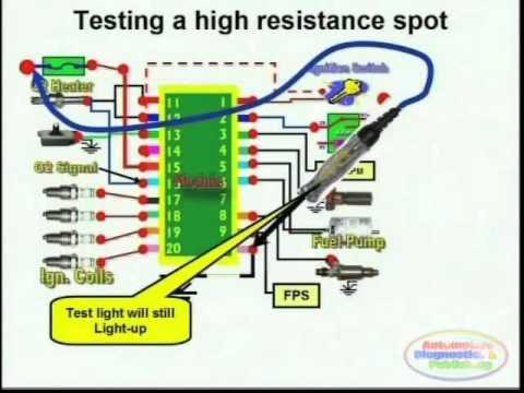 High Resistance Detection & Wiring Diagram  YouTube