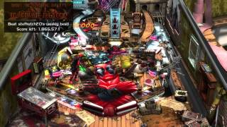 Gameplay Glimpse: Deadpool in Zen Pinball 2 on PS4