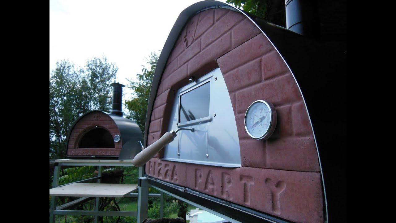 forno a legna portatile pizza party nuovi materiali per