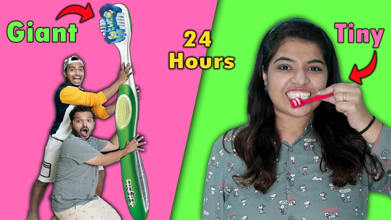 Download Tiny Vs Giant For 24 Hours Challenge I Funny Hungry Birds Challenge