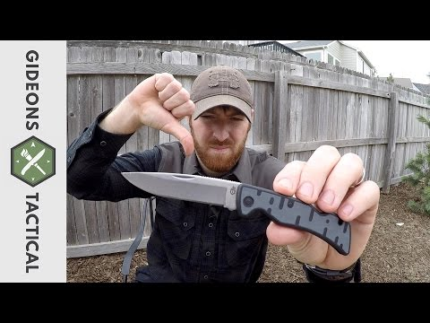 Total Crap: The Gerber Commuter EDC Knife