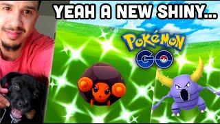 2 new Shiny Pokemon in Pokemon GO   Pinsir Raid day