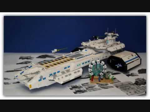 Lego Stargate Daedalus