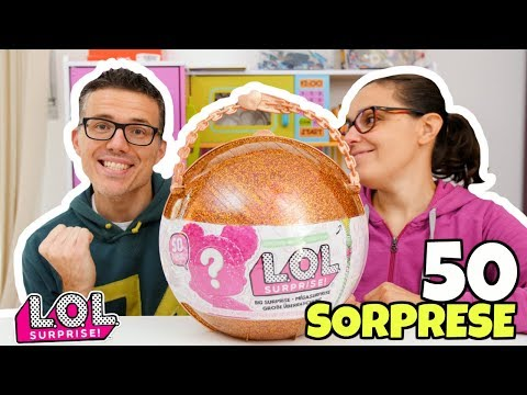 LOL Surprise BIG SURPRISE: Apertura 50 Sorprese