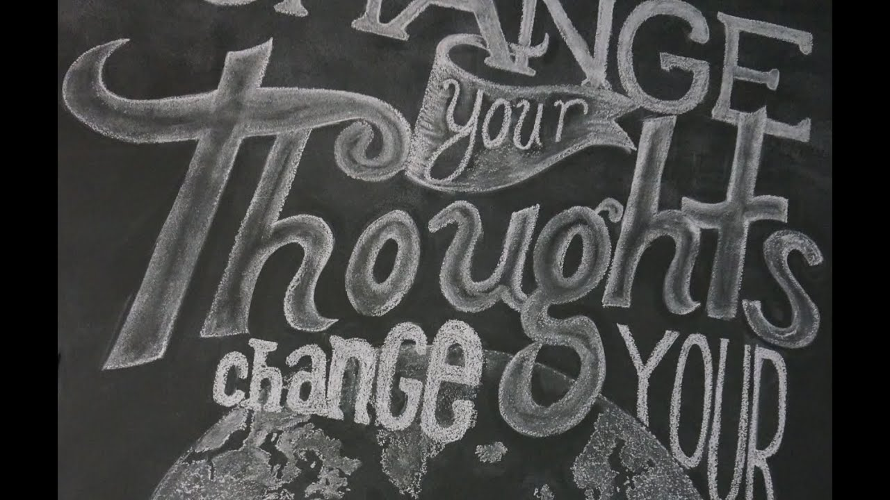 draw write beautifully on your chalkboard wall superholly youtube