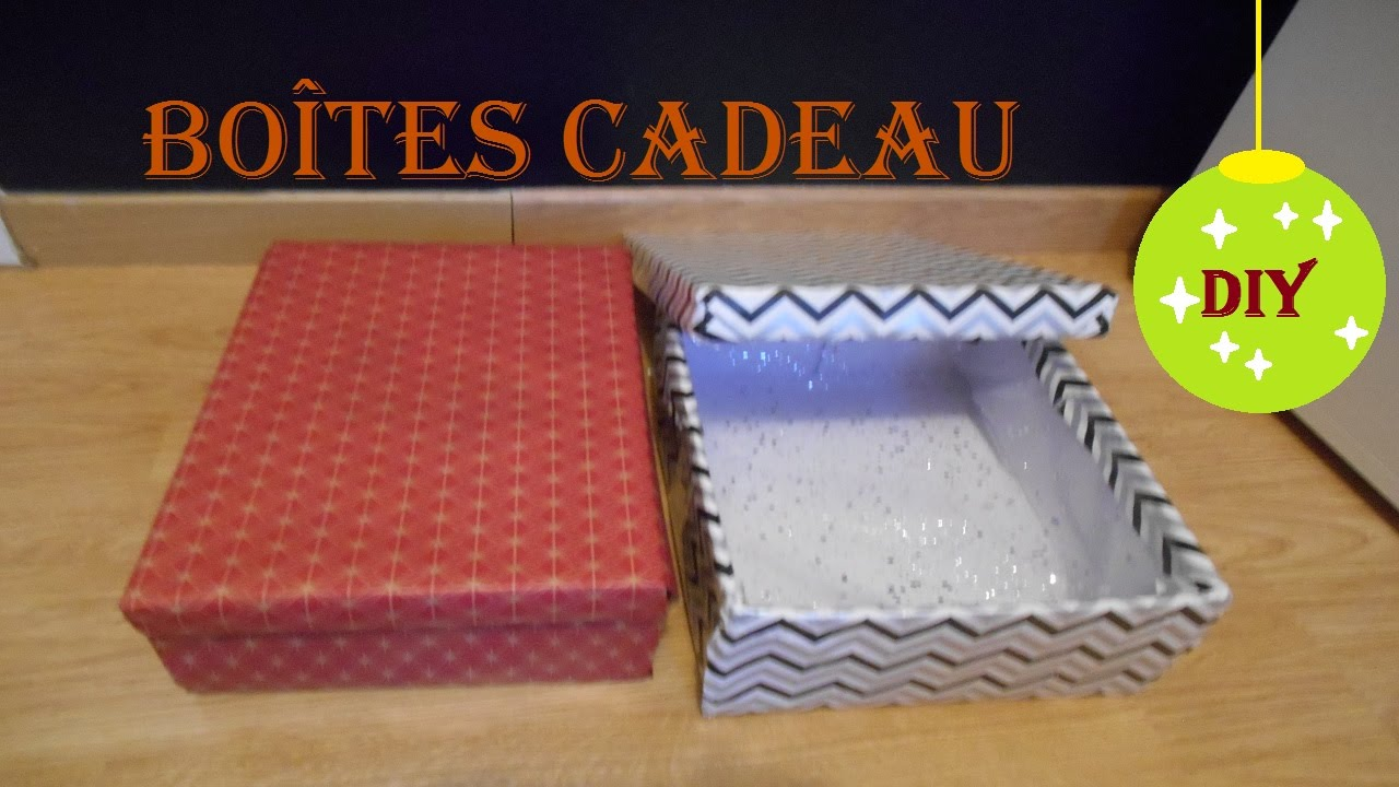 diy bo te cadeau youtube. Black Bedroom Furniture Sets. Home Design Ideas