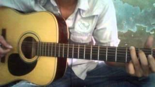 ánh mắt trong đêm cover ( guitar vang )
