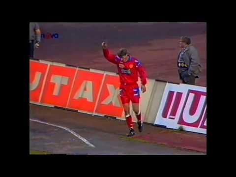 FC Boby Brno-SK Slavia Praha 1:2 1994/1995 1 poločas 34 770 diváků