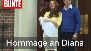 Ihre Taufe ist eine Hommage an Diana! - BUNTE TV