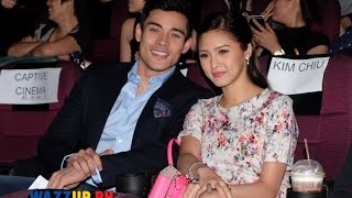 Kim Chiu Full Support for Xian Lim for the movie Paddington at the Celebrity Night Premiere
