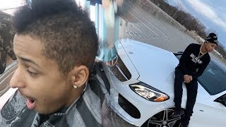 cutting-all-my-curly-hair-off-my-first-car-mercedes-benz-c450-amg-400k-special