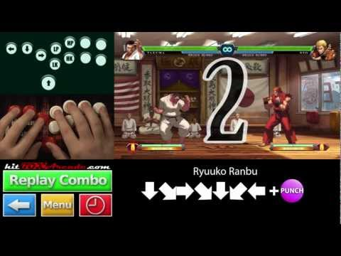 Interactive Takuma Combos KOF XIII