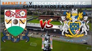 Barnet F.C. 1 v Stockport County F.C. 0 | 11 LONG YEARS!!! | GAMEDAY! Vlog! (02/12/18)