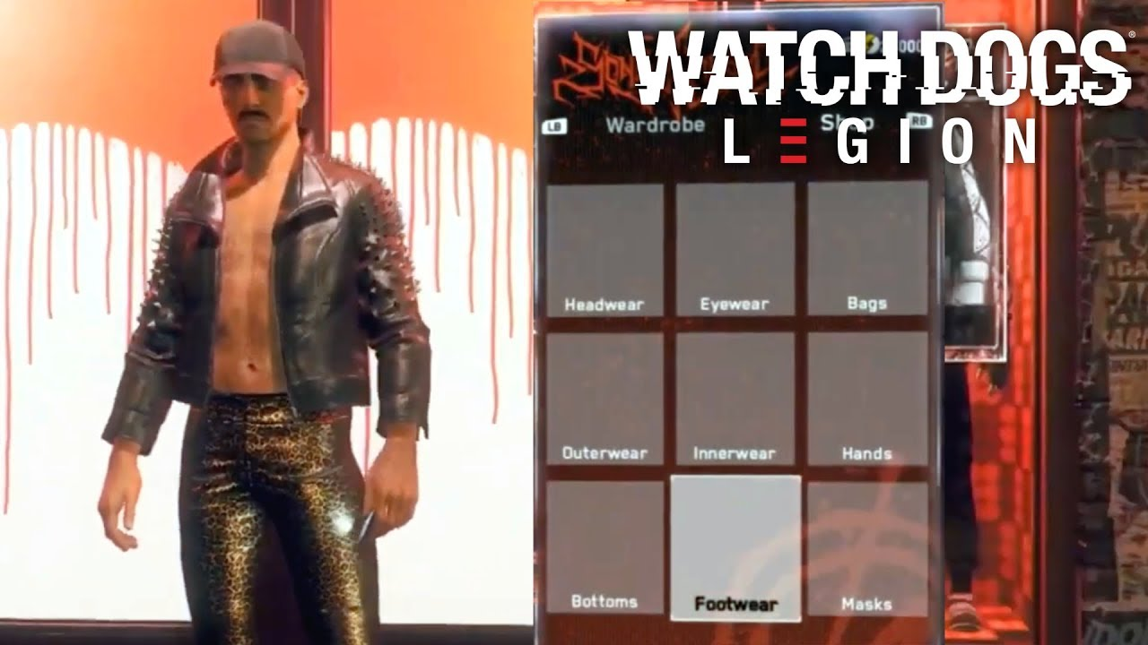 Watch Dogs Legion Character Customization Masks More Youtube