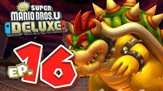 BOSS FINALE: BOWSER! [CASTELLO DI PEACH] -  New Super Mario Bros. U Deluxe ITA #16