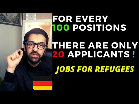 Jobs For Refugees In Germany | Jobs For Pakistani, Indian, Bengali, Afghani Refugees In Germany Urdu