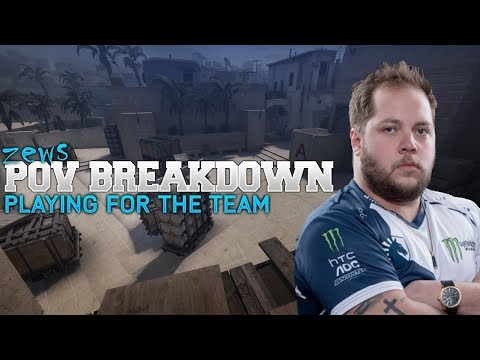 POV Breakdown - zews Selfless plays for Team Liquid vs AVANG