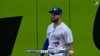 KEVIN PILLAR MAKES FULL EXTENTION DIVING CATCH. PLAY OF THE YEAR 2017
