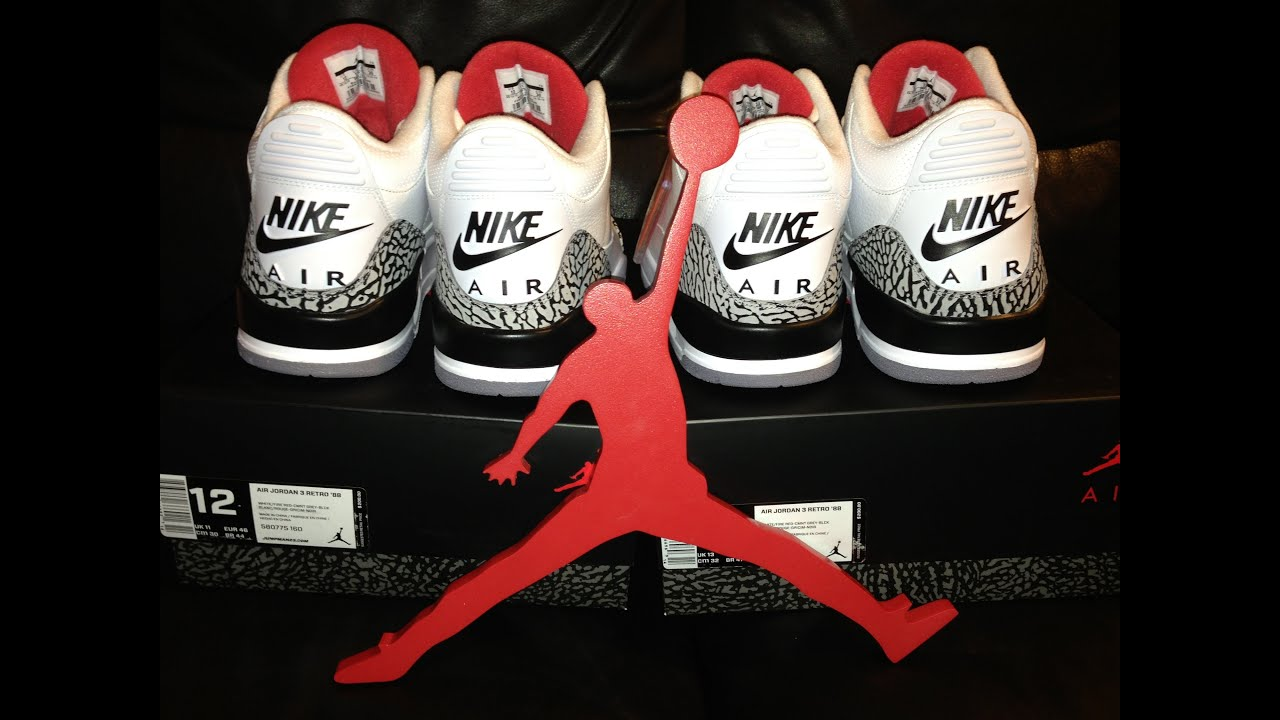 82c4d6fc2875 2013 Air Jordan 3 Retro  88 - YouTube