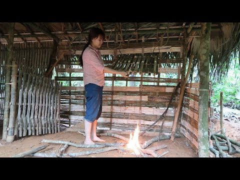 Primitive Technology: Primitive Wood Stove   Daily work (primitive-life)