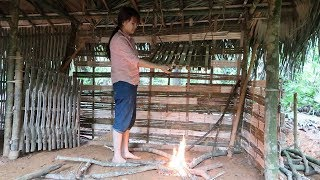 Primitive Technology: Primitive Wood Stove | Daily work (primitive-life)