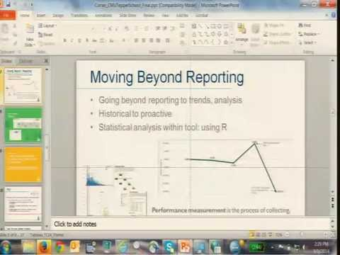 Carnegie Mellon: Using BI to Report Consistency and Creating Individual ROI in Higher Ed
