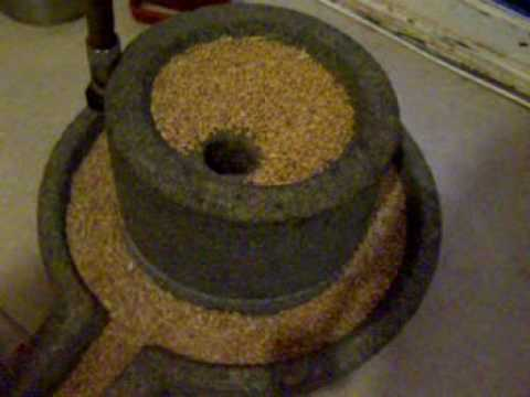 mill stone rotary quern  YouTube