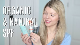 FAVOURITE NATURAL & ORGANIC SPF (face, lips, body)