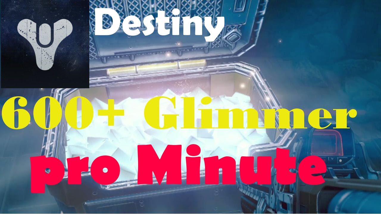 Destiny 2 Glimmer Farmen
