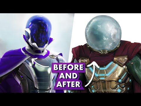 How Marvel Studios Designed Mysterio in Spider-Man: Far From Home
