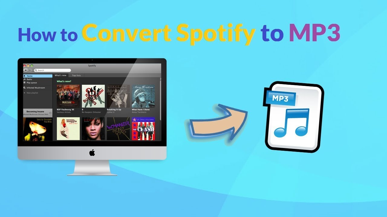 Video information to Convert Spotify Songs and playlists to