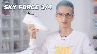 Nike Sky Force 3/4 : giày Nike trắng thay thế Nike Air Force 1, rẻ hơn rất nhiều